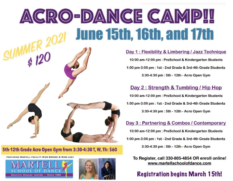 Acro Dance Camp